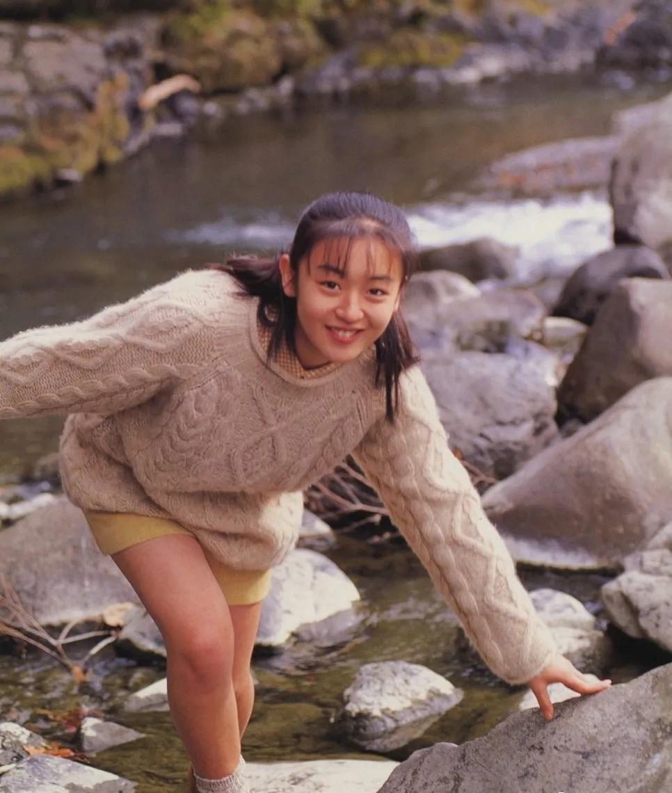 清纯玉女17岁情书中的酒井美纪写真作品 (130)