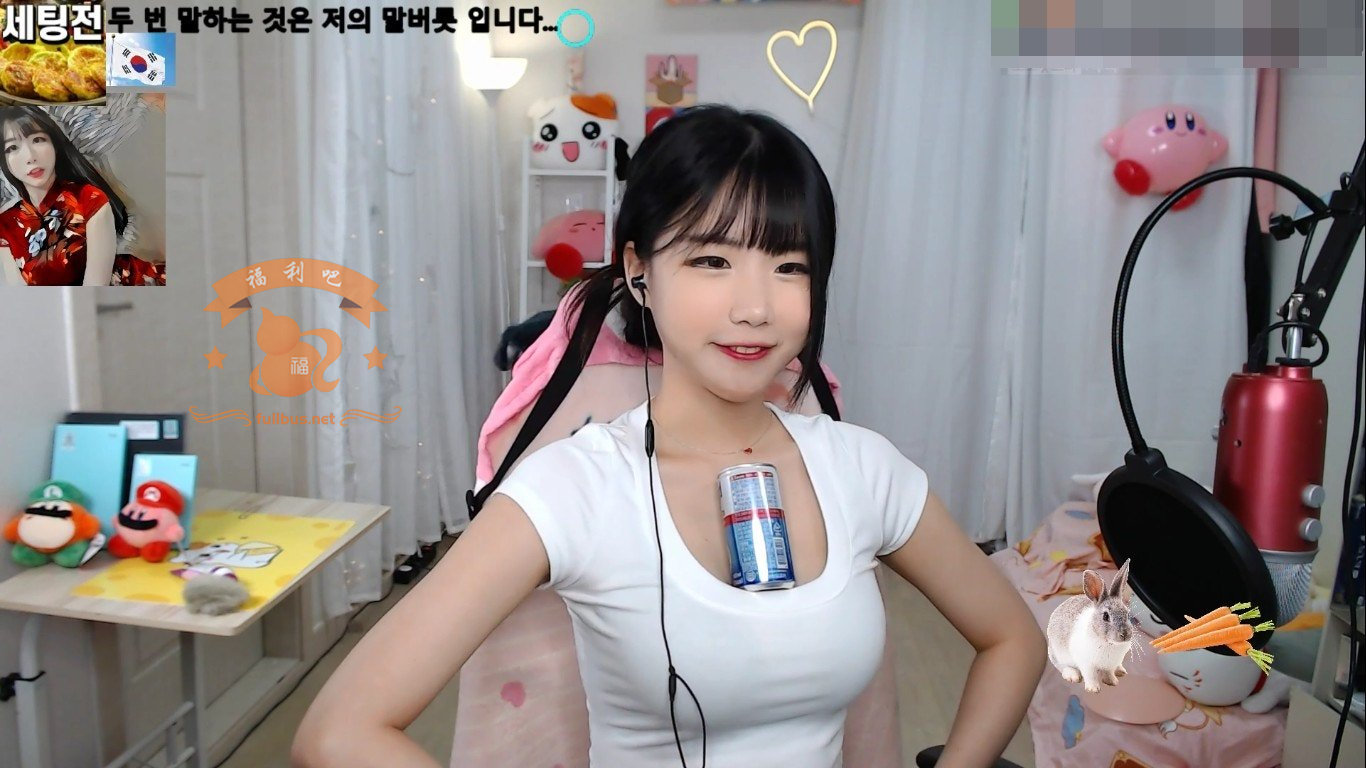 韩国美女主播edoongs2意外走光,含泪宣告退出直播圈