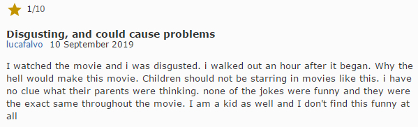 R级片《好小子们》一群未成年人演了自己不能看的