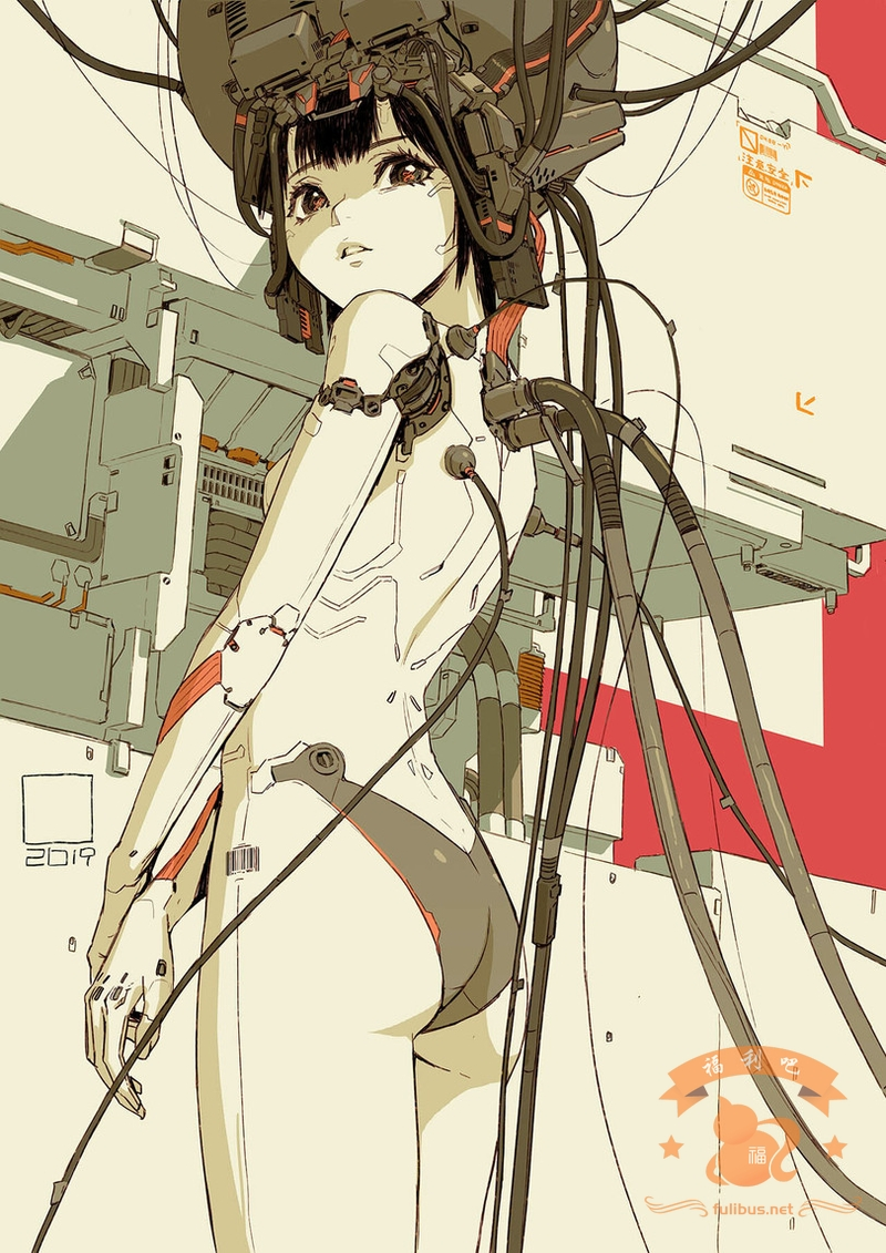 арт-девушка-art-Cyborg-Sci-Fi-5541672
