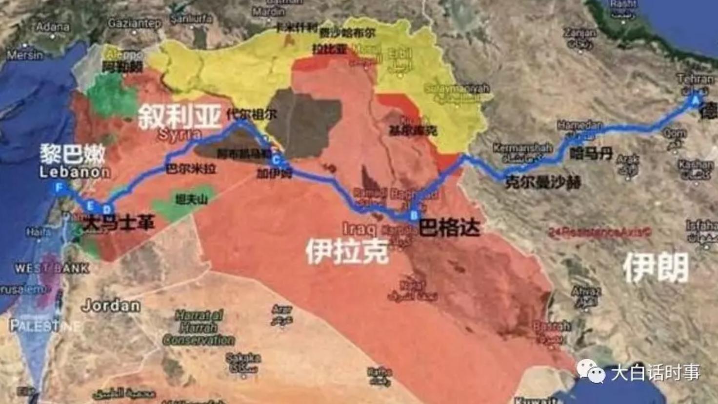 得中东者得天下,万字分析美国伊朗战争原因插图1