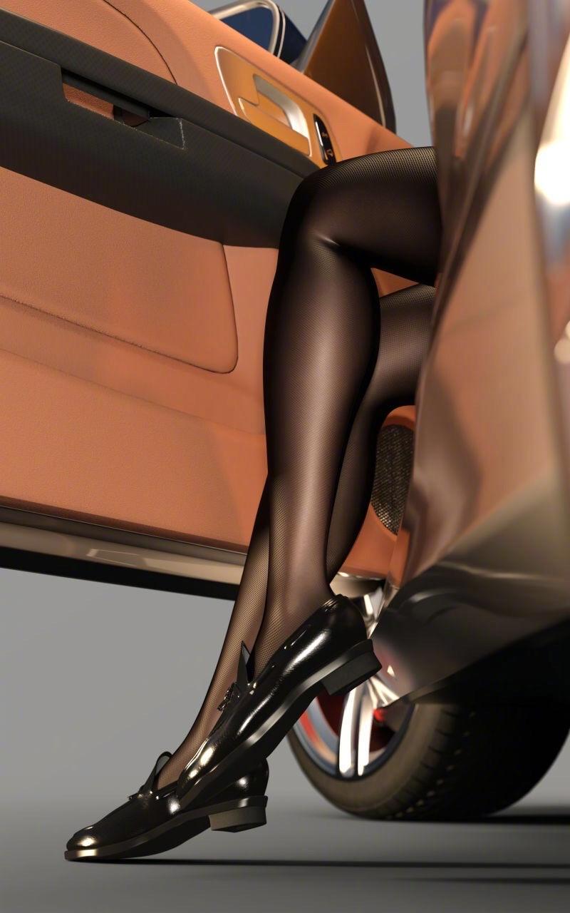 二次元妹子黑丝美腿绝对领域福利图精选 漫画 热图7