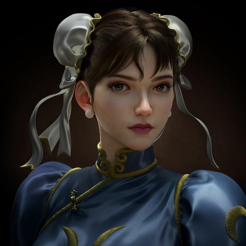 Chun-Li-Street-Fighter-Игры-game-art-5675819