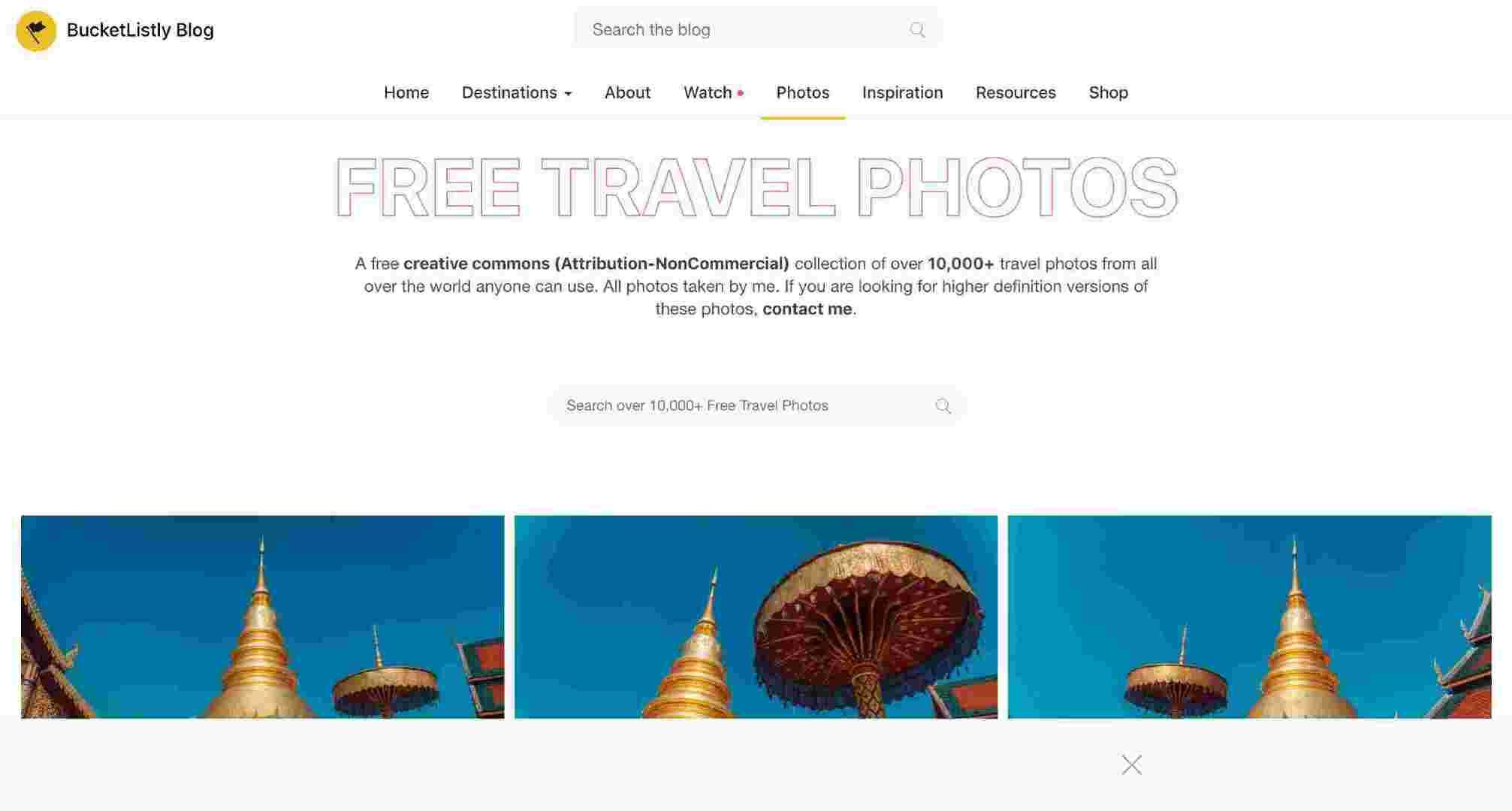 全网最全免费图片素材下载网站