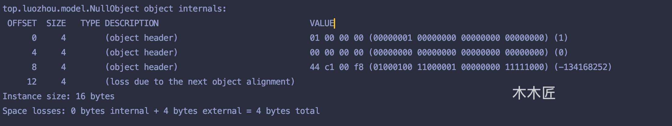 你写的Java对象究竟占多少内存?