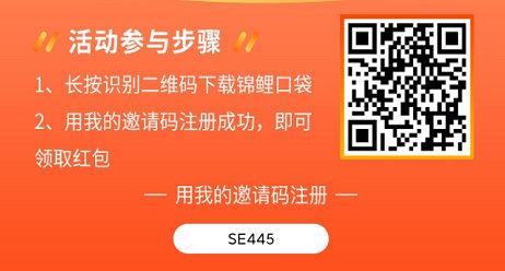 锦鲤口袋邀请码:SE445 新人下载锦鲤口袋APP0元购撸实物 薅羊毛 第1张