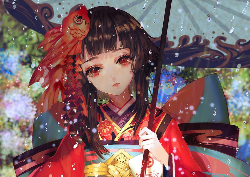 [P站画师][次元小镇]一个喜欢古风画的台湾画师Say HANa的插画作品 P站画师-第4张