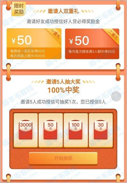 新网银行,新用户申请额度领3万元7天免息券,邀请50元现金 薅羊毛 第3张