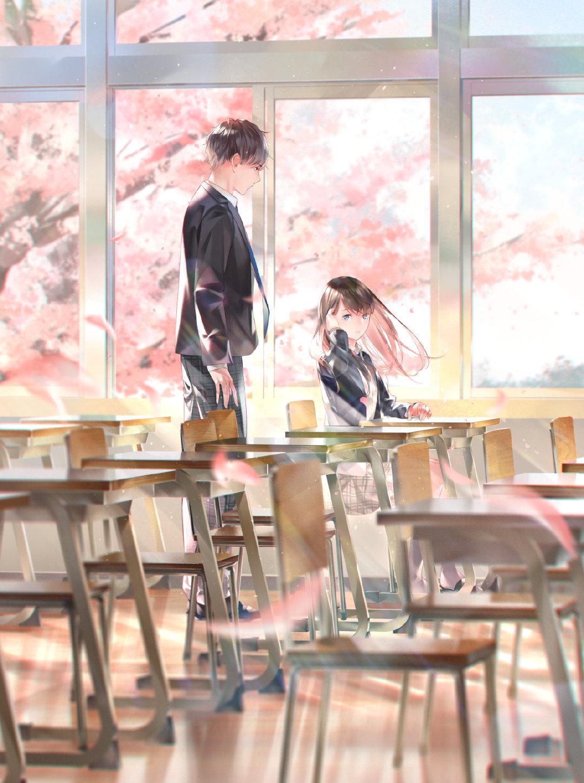 [P站画师] 日本画师爽々的插画作品,画风比较柔和 P站画师-第4张