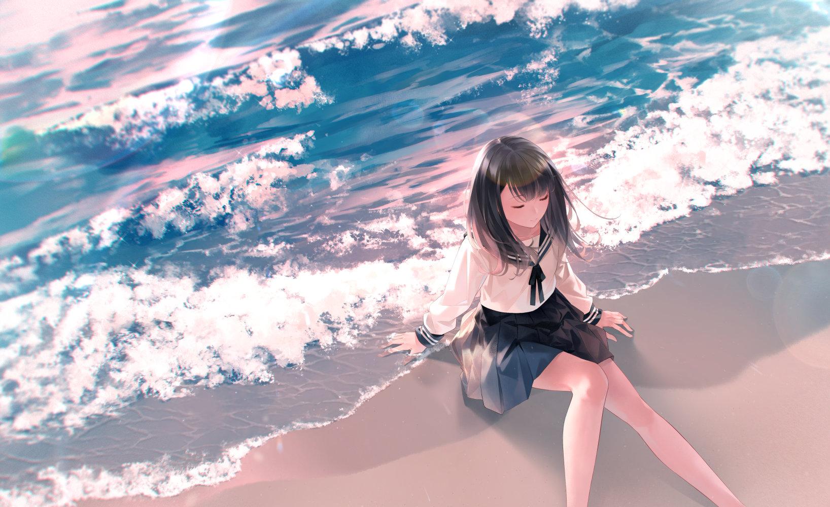 [P站画师] 日本画师爽々的插画作品,画风比较柔和 P站画师-第10张