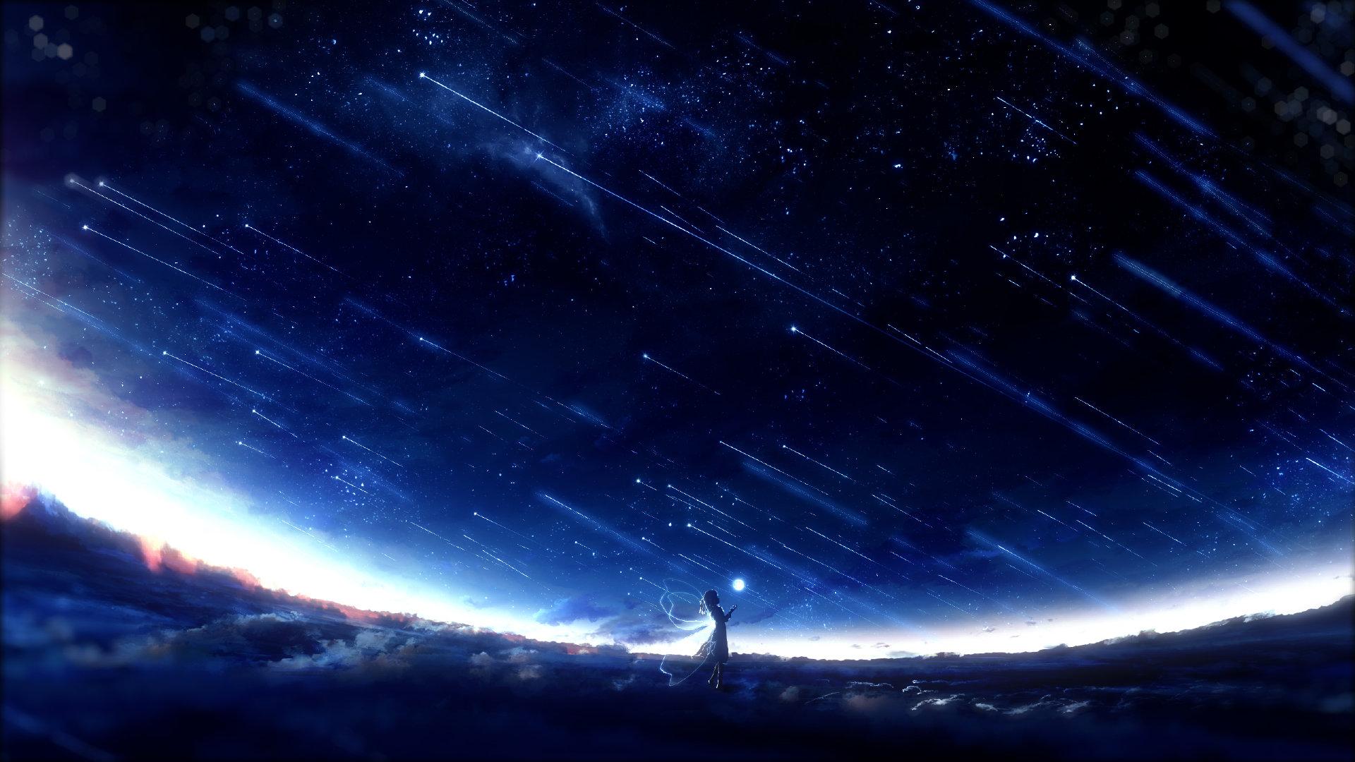 [美图推荐]夜空 星空 想念你的每个夜晚 电脑手机壁纸 手机壁纸-第10张