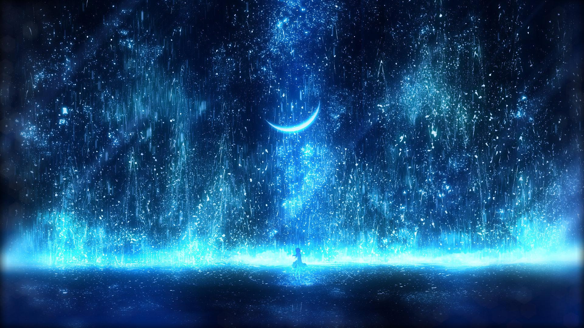 [美图推荐]夜空 星空 想念你的每个夜晚 电脑手机壁纸 手机壁纸-第4张
