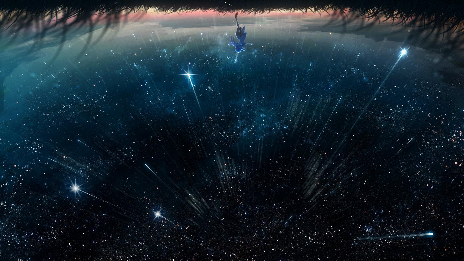 [美图推荐]夜空 星空 想念你的每个夜晚 电脑手机壁纸 手机壁纸-第1张
