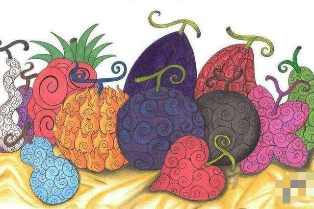 《海贼王》中的恶魔果实排行榜,岩浆果实只能排第三