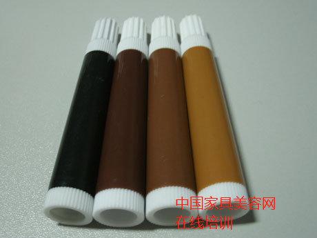 家具维修材料中修色笔的使用方法-家具美容网