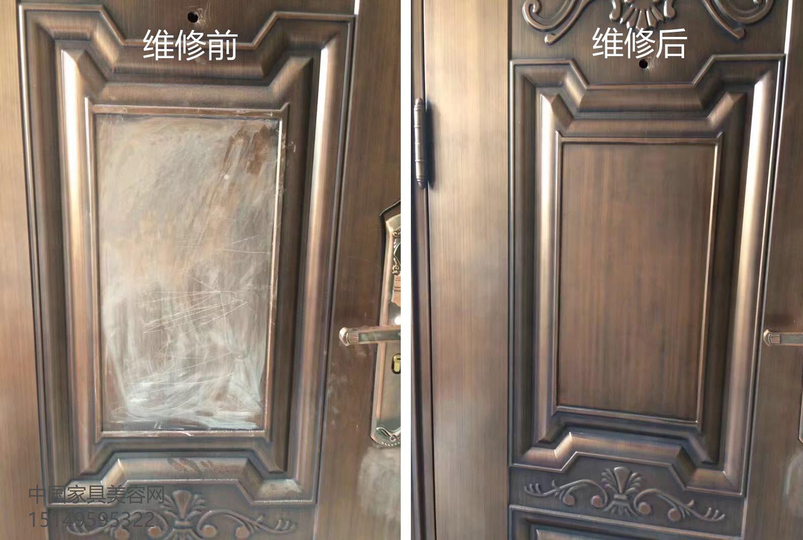 不锈钢仿铜门表面的划伤修复方法-家具美容网