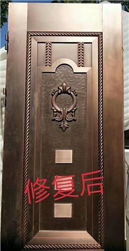 【家具维修技术】铜门修复技术-家具美容网