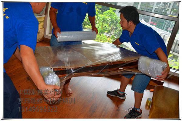 搬家工人碰到家具破损后该怎么修复-家具美容网