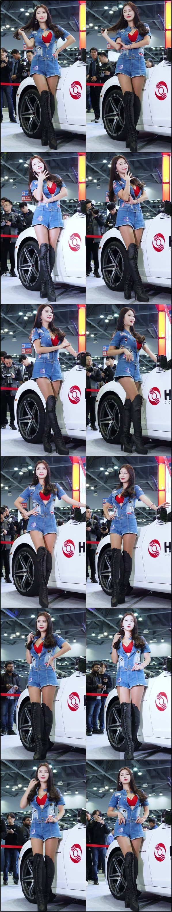 [會展模特] 韓國車展性感模特精選飯拍2020580