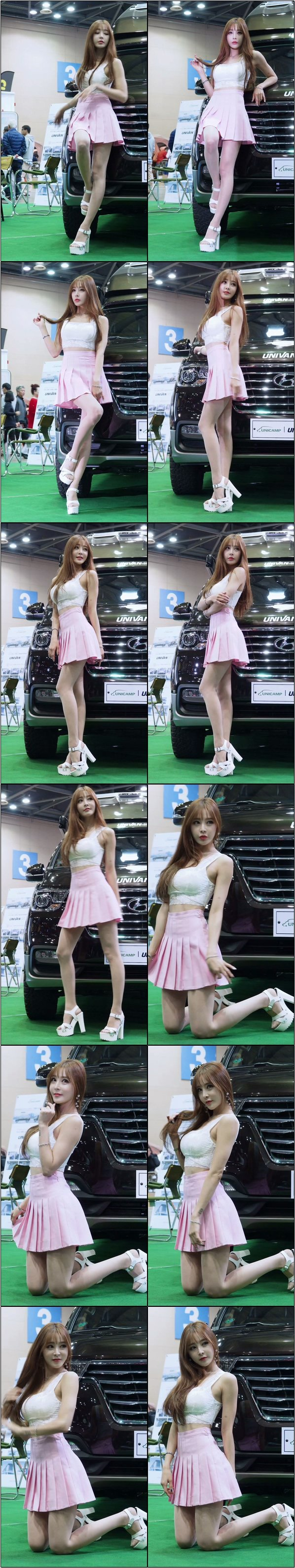 [會展模特] 韓國車展性感模特精選飯拍2020582