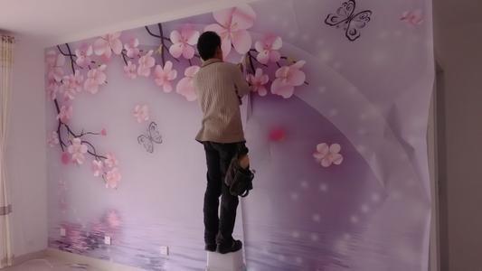 关于贴壁纸翘边和有气泡怎么处理