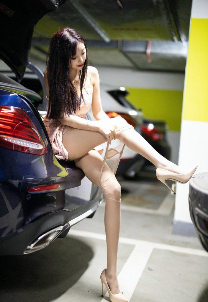 丝袜美腿美女114车模西西gogo高清大胆专业写真 节操写真馆 热图5