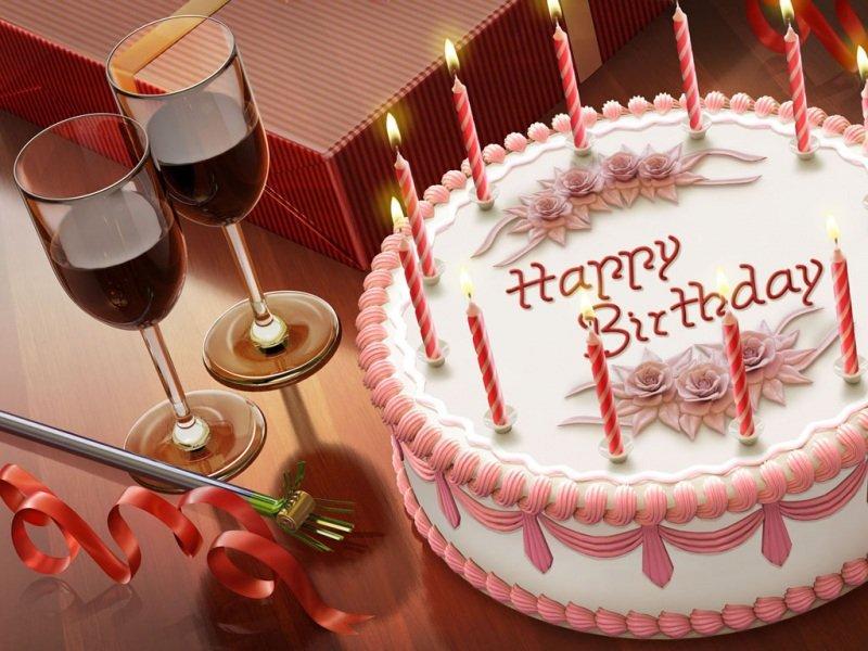 一组生日快乐图片9张