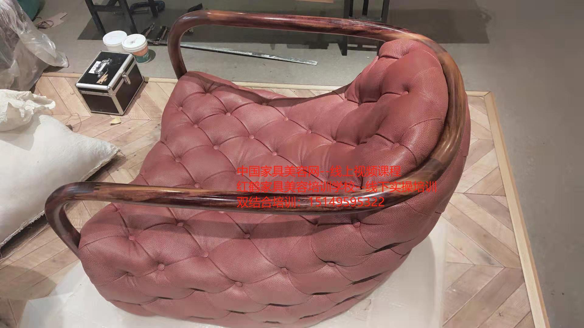 家具美容修复技术-简单介绍沙发皮革皮具划痕和修复的方法-家具美容网