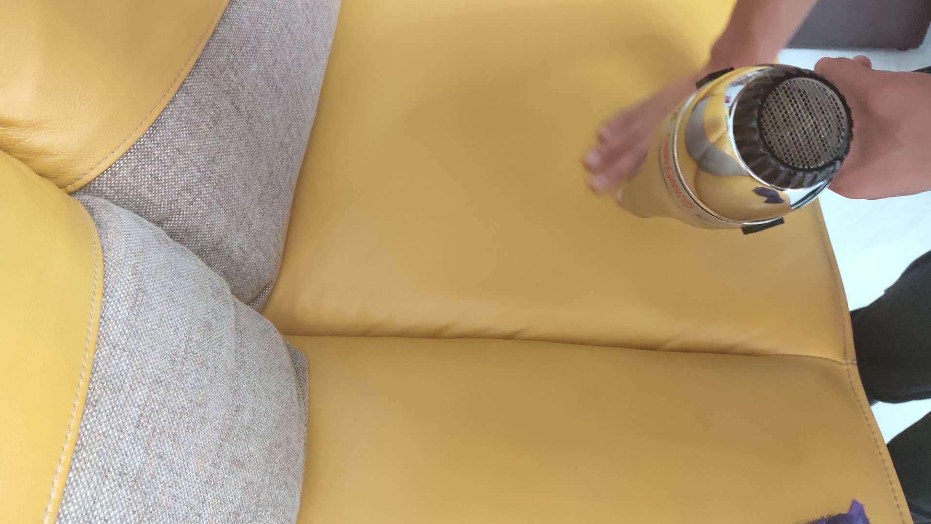 家具美容修复技术3-掉皮的光面皮具修复翻新步骤教程-家具美容网