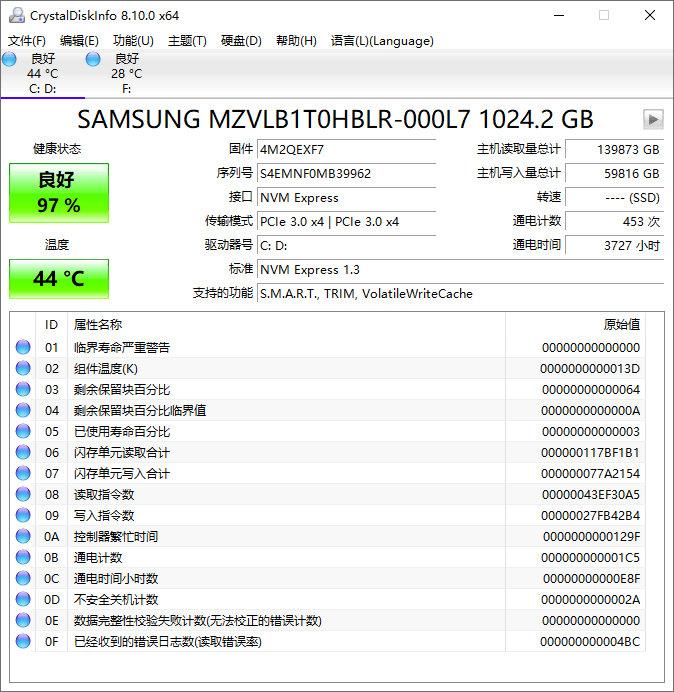 CrystalDiskInfo v8.10.0正式版插图1