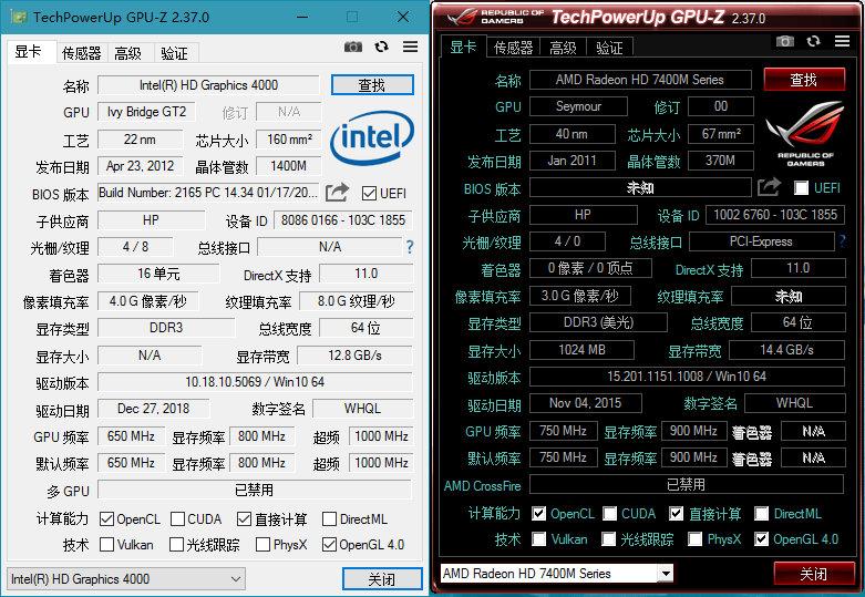 GPU-Z v2.37.0中文汉化版插图1