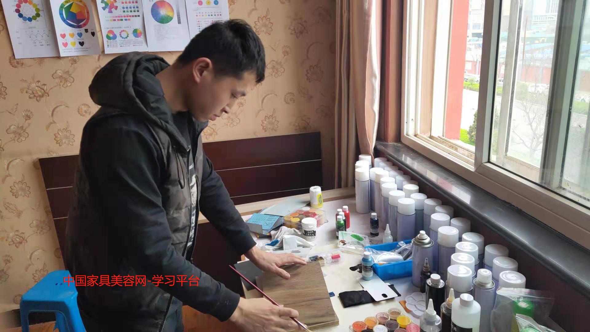 从北京上海合肥广州贵阳家具维修学习归来,对于家具美容培训机构的看法!