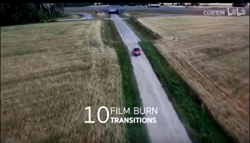 AE模板丨230组火焰烟雾光效叠加像素化模糊冲击ae视频转场模板
