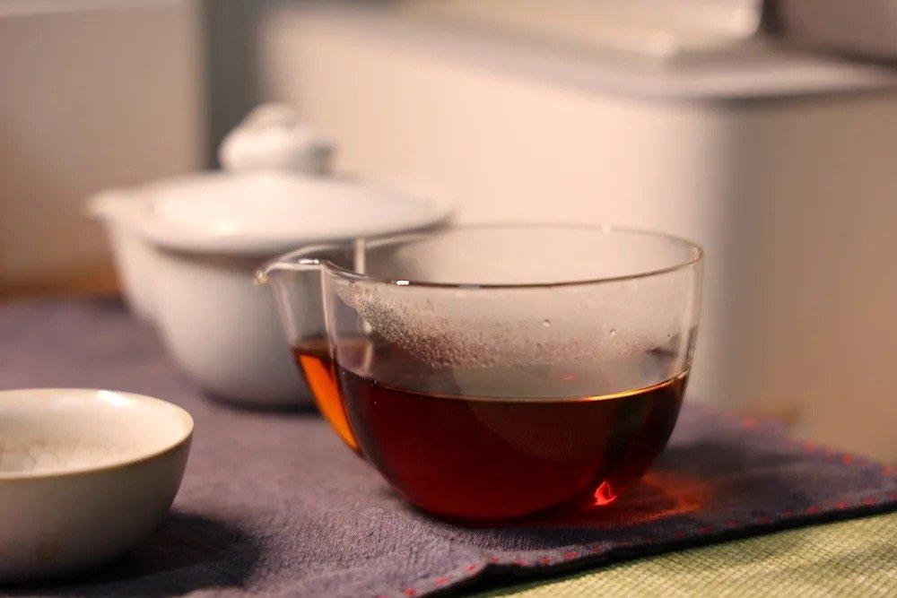 小青柑茶汤