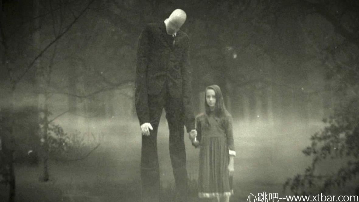 """0085j6oIly1ghf61qrnd0j30ws0ifmz1 - [欧美都市传说]:瘦长人Slender Man,""""小孩儿跟我走"""""""
