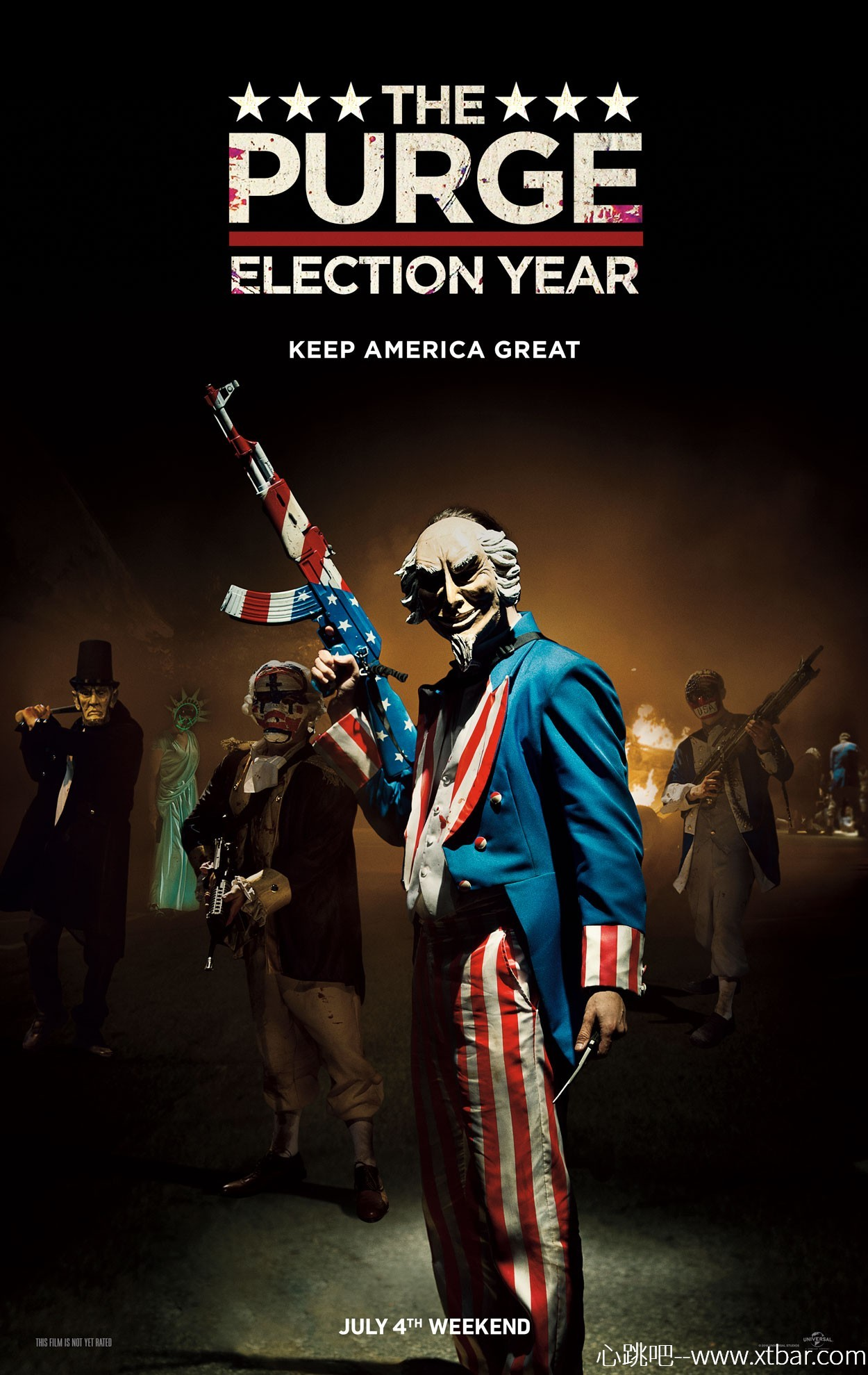 0085j6oIly1gm8faapa8uj30yq1izaiu - [心跳吧恐怖片推荐]:《人类清除计划3:大选之年》,杀人很重要,但节日装扮才是根本!