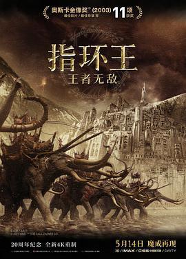 指环王3:王者无敌的海报