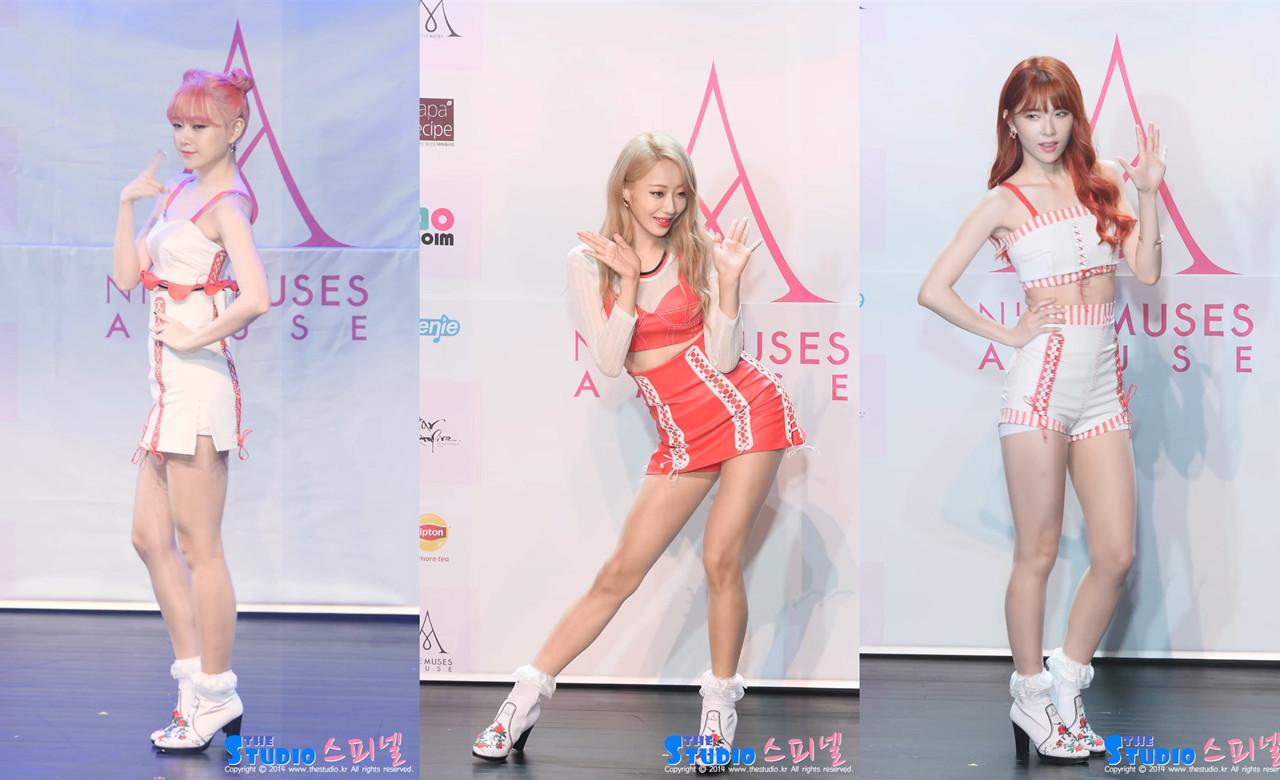 [2016年] 韩国女团Nine Muses(9muses) 饭拍视频15部合辑[2.08G]