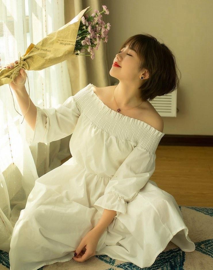4IPZ-854身材绝对性感韩国美女露背装