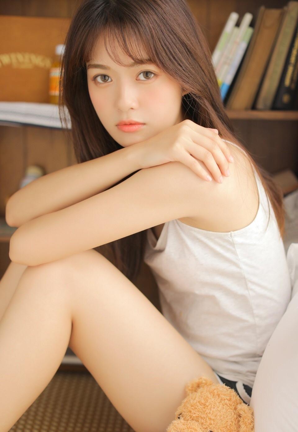 DJSK-053Beautyleg白丝长腿美女内衣诱惑