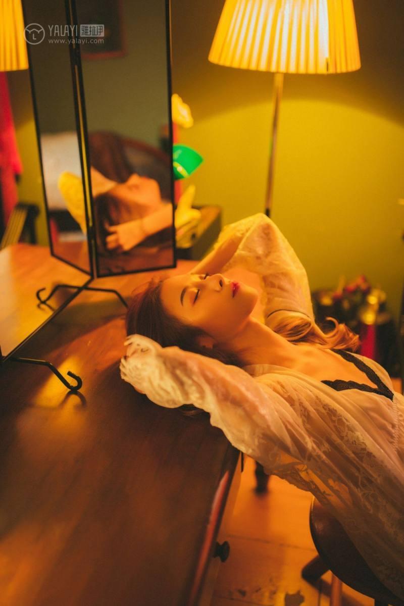 JUX-019高冷暗黑系少女吊带长裙性感写真