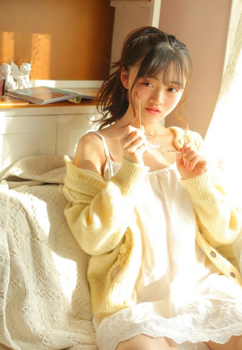 HAVD-632韩国美女模特牛仔裤衬衣穿搭