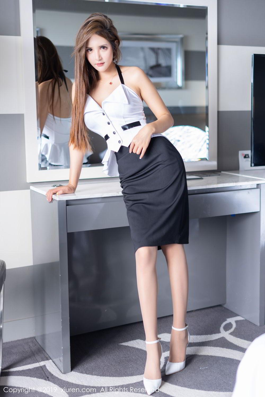 MIDD-786曼妙身材韩国气质美女修身长裙写真