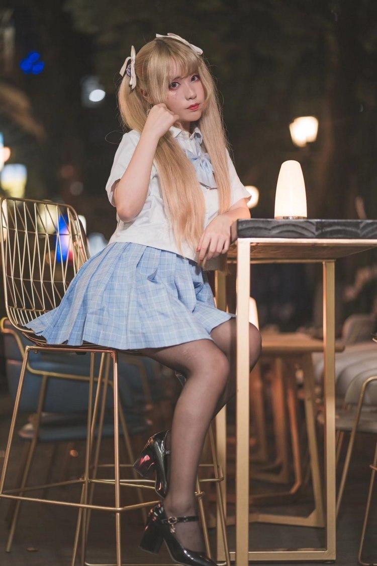 IDBD-492零零后童颜巨乳小美女空姐制服黑丝袜