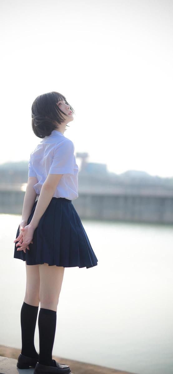 4RB-597气质型牛仔裤长腿美女
