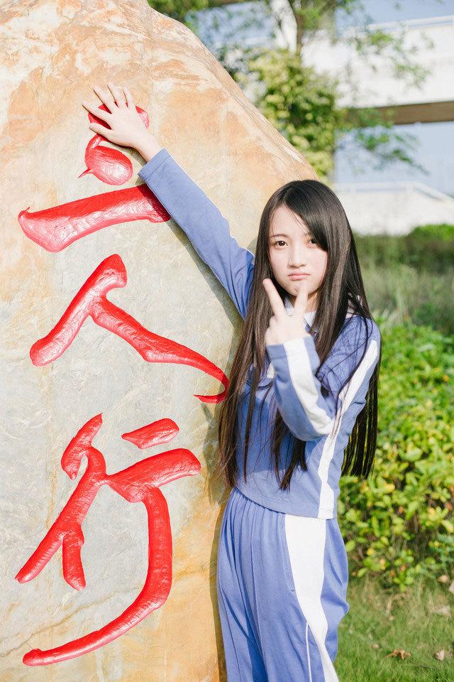 5MID-669韩国美女低胸超短牛仔秀美腿