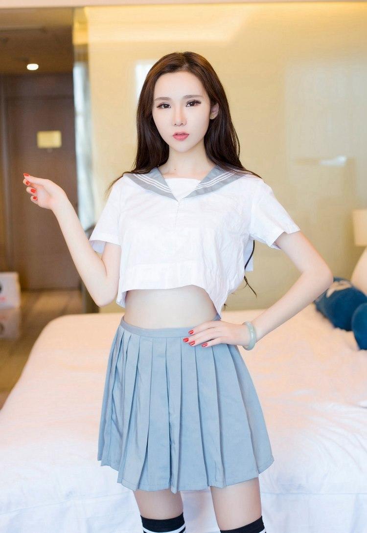 5IPT-560韩国寸裤美女透明上衣写真
