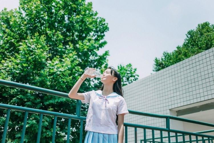 GM-012[模范学院]短发养眼白嫩美女艾莉清新内衣透视装系列