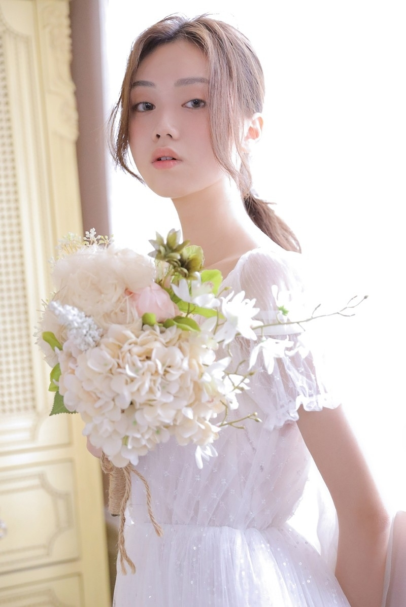 IBW-720Z假小子短发少女私房中性风格内衣诱惑性感写真
