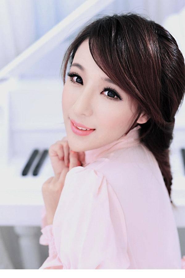 5DAS-052超好看的韩国气质美女连体修身裙写真